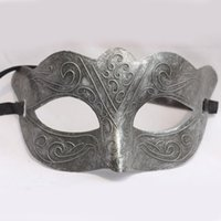 Wholesale venice hot - Classic Retro Venice Masquerade Mask Half Face PVC Adult Performance Party Mask Cosplay Costume Accessories SD384 HOT Sale