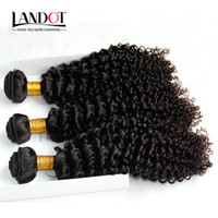 Wholesale kinky curl weaves - Mongolian Kinky Curly Hair Unprocessed Mongolian Jerry Curls Human Hair Weaves Bundles 3Pcs Lot 8A Grade Mongolian Deep Curly Hair Extension