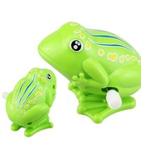 Wholesale wind up jumping toy frog for sale - Group buy Baby Kids Toys Wind Up Clockwork Toy Mini Pull Back Jumping Frog Toys for Children Boys Green Wind Up Jumping Toy