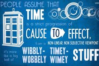 Wholesale Self Adhesive Wall Time - Time and Doctor Who 20*30 Inch Printed High Quality Wall Sticker
