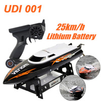 Wholesale UDI001 Bateau One Propeller Remote Control Boats Remote Control Toys GHz CH Water Cooling High Speed RC Boat RC Speed