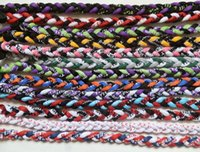 Wholesale Titanium Rope Necklace Sale - Sale!!! NEW! 3 Rope Titanium Twist Sport Necklace all colors mix or match your reqeustTornado Baseball