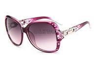 Wholesale Eyeglass Frame Chains - Glasses Shop 2016 Fashion Sunglasses Metal Chain Plastic Frame Eyeglasses Cheap Sun Glasses Mix 7 Colors