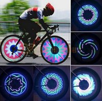 1PCS Bricolage 48 Led Double Side Programmation IP65 Flash Tire Valve Roue Spoke Light pour 24 Bicyclettes pouces pour créer des images fantastiques YQ8002