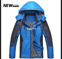 Wholesale Snow Jackets For Men - free shipping outdoors snow jacket men's winter coat cotton hoodies for men jackets for men winter jacket outdoor jacket zipper