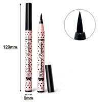 Wholesale Cute Pens Pencils - HOT Women Lady Beauty Makeup Black Eyeliner Waterproof Long-lasting Liquid Eye Liner Pencil Pen Make Up Cosmetic Cute Tool free shipping DHL
