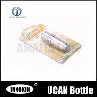 Wholesale Stainless Steel E Liquid - Authorised Innokin Ucan v2.0 10ml Needle Liquid Bottles Best Quality Empty Stainless Steel Bottles for E cigarette Free Shipping