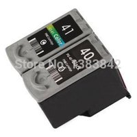 Wholesale Cartridge For Brother - 1 Set PG-40 CL-41 Ink Cartridge for CANON PG40+CL41 for Canon PIXMA IP2500 IP2600 MX300 MX310 MP160 MP140 MP150