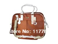 Gros-bateau libre d'Orange double brin en nylon 1680D avec ruban de coton Pet Dogs Carrier Bag Chiens Fashion Bag
