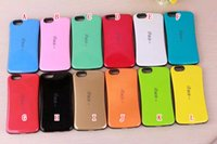 Wholesale Iface 4g - For Iphone 8 7 I7 6S 6 Plus 5.5 I6S 4 4G 4S 5 5G 5S 5C IFACE Case Korea Soap Colorful Protective Hybrid Soft TPU PC Hard ShockProof Cover