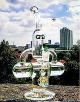 neue wasserbubbler großhandel-Neue ankunft Glas Bong glas bubbler wasserleitung Ölplattformen mit glas nagel dome Wasserleitungen Oli Rigs