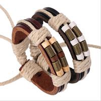 Wholesale infinity couple bracelet for sale - Mix Sale New Valentine Charm Bracelets Handmade Personality Infinity Fashion Wood Double Color Couples Leather Bracelets Jewelry