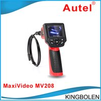 autel kamera großhandel-Ursprüngliches Autel Maxivideo MV208 Digital-Videoskop 8.5MM Inspektionskamera MV 208 Multipurpose Videoscope + DHL geben Verschiffen frei