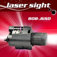 лазерный светодиодный пистолет оптовых-Пистолет 650 нм красный лазерный прицел Выравнивание прицел с супер яркий светодиодный фонарик Красный лазерный прицел для прицел