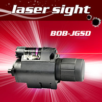 mira laser linterna led al por mayor-Pistola 650nm vista láser roja Alcance de enfoque de alineación con Super Bright LED Linterna Combo láser rojo Sight for Rifle Scope