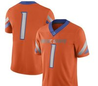 Camisas de futebol da faculdade NCAA # 1 Royal Boise State Broncos Game Football custom jersey Untouchable College fábrica personalizada limitado elite kids