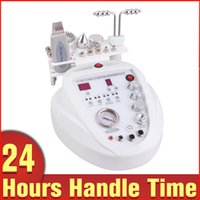 Wholesale Skin Care Product Machine - 2015 New Product Facial Caring Bio Microcurrent Dermabrasion Peeling Skin Lifting Ultrasound Scrubber Photon Microdermabrasion Machine