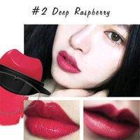 Wholesale carol red - The Lazy Lipstick series matte makeup Lipstick daily 4 colors:#1 Berry, #2 Deep Raspberry, #3 Pumpkin Red, #4 Carol Pink DHL free shipping