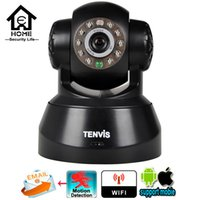 Wholesale Security Camera Tenvis - Tenvis Wireless IP Camera Wifi Baby Monitor Network Surveillance Camera Night Vision P2P CCTV IPCam Home Security IP Camera