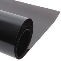 Wholesale Dark Film Window - Wholesale- 50cmx300cm Dark Black Car Window Tint Film Glass VLT 5% Roll 1 PLY Car Auto House Commercial Solar Protection Summer