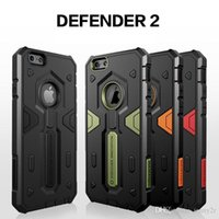 Cubierta híbrida de TPU + PC Urban Air Armour Shell Phone Case para iPhone 6 Plus / 6s Plus 5.5 pulgadas Diseñador de marca Anti-knock Defend de calidad superior