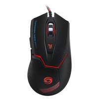 Wholesale- Botões 6D LED Optical USB Gaming Mouse 3200 DPI laptop Ratos com fio mause Para computador / notebook / Windows 10 / 8.1 / mac OS / gamer
