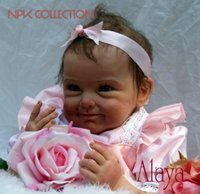 Wholesale alive dolls for sale - Group buy reborn baby doll newborn Bebe Alive Brinquedos Bonecas gifts for Girls Birthday Christmas Gift reborn dolls realistic soft