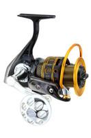 Wholesale Design Sheet Metal - RYOBI Original fishing reel ARCTICA 7000 design slim metal body rubber CNC handle saltwater Spinning Fishing Reel