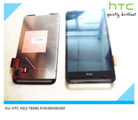 Wholesale Hd2 Touch Screen Digitizer - Wholesale-Original For HTC HD2 T8585 P N:60H00300 Full LCD Display+Touch Screen Digitizer Free shipping