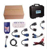 Wholesale Cheap Programmers - New Cheap Factory Price !!! Arrival NEXIQ 125032 USB Link + Software Diesel Truck Diagnose Interface and Software with All Installers DHL
