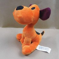 Wholesale Bandai 12 - Wholesale-14cm   20cm Loula Puppy Pocoyo Cartoon Plush Stuffed Figure Toys Animals Dog Loula Pocoyo Bandai Plush Toy Dolls