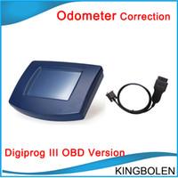 Wholesale auto mileage - Newly arrival V4.94 DigiprogIII Odometer Correction tool Digiprog 3 Mileage change tool & Auto Diagnostic tool Free Shipping