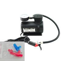 Wholesale Mini Electric Air Pump - Quality Guaranteed Portable Mini Electric Air Compressor for car Tire Inflator Pump 12 Volt 300 PSI