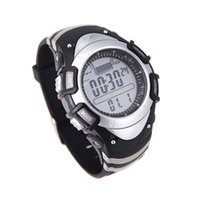 Wholesale Sport Watch Thermometer - Sunroad FX704A Digital All In One 3ATM Waterproof Fishing Barometer Altimeter Thermometer Watch Multifunction H11947