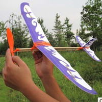 Grossiste Puzzle Magic Flying Gliders Aircraft Avion avion en mousse Enfants Enfant DIY Toy éducatif Livraison gratuite