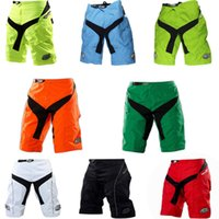 Wholesale Tld Downhill - Wholesale-High quality with Pad Shorts ! 2015 TLD BICYCLE MTB BMX DOWNHILL Moto Motorcross Motorcycle Short Pants #NE06