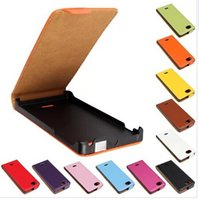 Wholesale St26i Leather - Mobile Phone Accessories Parts Mobile Phone Bags Cases DT1 Genuine Leather Case For Sony Xperia J St26i Flip Cover Case free shipping