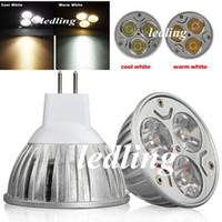 Atacado -1x Promoção! <b>Retail High Power CREE</b> 9W 3x3W GU10 / MR16 / E27 Led Light Lamp Spotlight Led Bulb