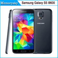 samsung s5 camera 도매-원래 단장 한 Samsung 은하 S5 i9600 2GB 렘 16GB ROM 16MP 사진기 쿼드 중핵 5.1