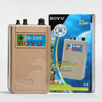 Wholesale Battery Powered Air Pump - NEW WDC 0.5W 2L min Waterproof Battery Powered Aquarium Air Pump Aerator Adjustbale Fish Tank Air Oxygen Pump w  airline tube