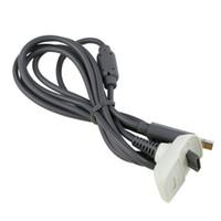 ingrosso line controller-Cavo di ricarica USB Cavo di alimentazione per PS3 PS4 XBOX 360 ONE Controller wireless Gamepad Mini Micro USB Cavo di collegamento per PC di ricarica Q2