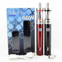 Wholesale Kits Two Cigarettes - 5pcs Vapor Storm U20 Subtank Nano Atlantis Kit And 5pcs Sub Two 60W Mod Kit Electronic Cigarette Kits