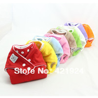 Wholesale Nappies Inserts - Fast Delivery cloth nappy,Reusable Washable Baby Cloth Nappies Nappy Diapers 10 diaper cover+20 Microfiber inserts Free shipping