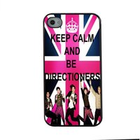Mantenere la calma e amore One Direction scuoterlo fashion design su misura per iPhone 6 caso 4.7