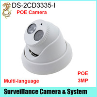hd ds оптовых-Новейшие Прошивки V5.3.3 и HEVC/H. 265 в безопасности IP-камера DS-2CD3335-я 3-мегапиксельной HD с поддержкой PoE заменить ДС-2CD3332-я