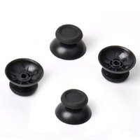 Wholesale Playstation Replacement - Thumbstick Thumb Analog Sticks Replacement For Dualshock PlayStation 4 PS4 PS3 Controller Controllers Joystick Mushroom Cap Rocker DHL