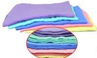Wholesale Shammy Cloth - Big Medium deerskin towel cleaning towel shammy car wash towel dry hair towel cleaning cloth belt bucket free shipping