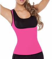 vücut daha ince kıyafet toptan satış-Neopren Zayıflama Kilo Kaybı Korset Spor Zayıflama Shaper Yağ Yakma Karın Korse Vücut Kadın Bel Şekli Giymek Vücut Şekillendirici