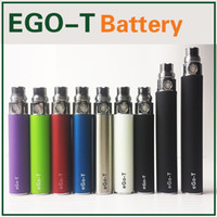 Wholesale Rechargeable Ecig Battery - Ego-T battery Ecig Rechargeable ego t batteries Electronic Cigarette 650mah 900mah 1100mah Battery 510 Thread Match ce4 mt3 gs h2 atomizers