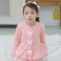 Wholesale Buy Korean Shirt - Girls Tops Blouses Child Shirt Buy Shirts Korean Girl Dress 2016 Spring Lace Long Sleeve T Shirts Children Clothes Kids Clothing Ciao C22623